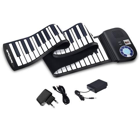 88 Keys Roll Up Piano Portable Electric Piano Keyboard