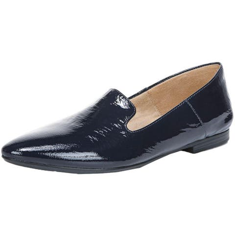 Naturalizer Womens Lorna Loafers Leather Pointed Toe