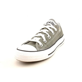 Converse Chuck Taylor All Star Seasonal Ox Women Round Toe Canvas Gray Sneakers
