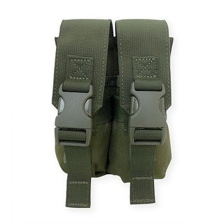 Tacprogear Olive Drab Green Double Flashbang Pouch - P-DFLBG1-OD