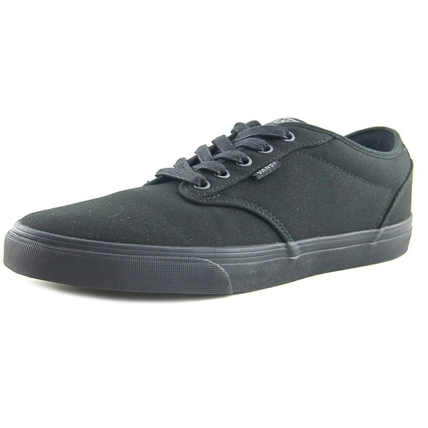 Vans Atwood Deluxe Men Round Toe Leather Black Sneakers