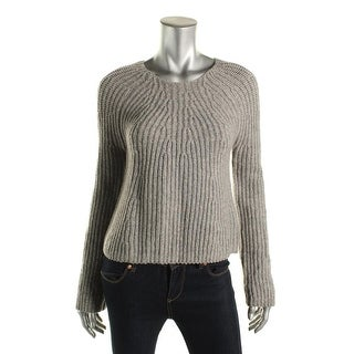 Joie Womens Nekane Pullover Sweater Wool Cable Knit