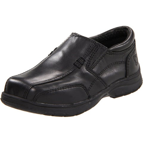 Kenneth Cole Reaction Boys Check N Check 2 Leather Slip On Loafers - 10 m us toddler
