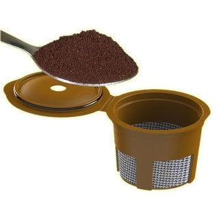 Cafejo Single Cup Ground Coffee Adaptor K-Cup for Keurig Brewers