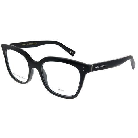 Marc Jacobs Marc 122 807 50mm Unisex Black Frame Eyeglasses 50mm