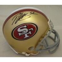 bb54945841f Shop Ricky Watters Autographed San Francisco 49ers Riddell Mini ...