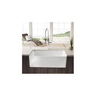 blanco cerana 30inch farmhouse kitchen sink apronfront fireclay sink wi