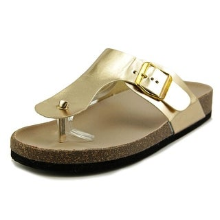 Qupid Deco-04 Open Toe Synthetic Slides Sandal