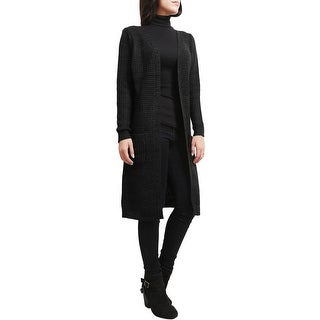 NE PEOPLE Womens Open Front Knee Length Cardigan [NEWJ54]
