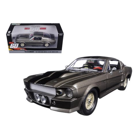 1967 Ford Mustang Custom Eleanor Gone in 60 Seconds Movie (2000) 1/24 Diecast Model Car by Greenlight