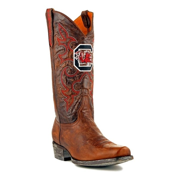 Gameday Boots Mens College Team South Carolina Brass