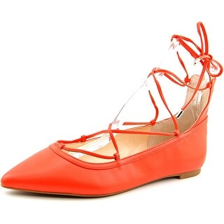 INC International Concepts Zadde Women Pointed Toe Synthetic Flats