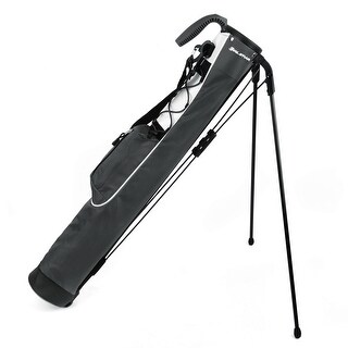 Orlimar Pitch and Putt Golf Lightweight Stand Carry Bag, Slate Grey