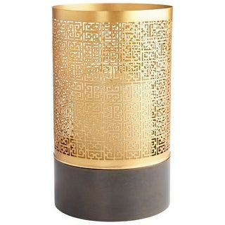 Cyan Design Large A-Mazing Candle Holder A-Mazing 10 Inch Tall Iron and Candle Holder Made in India
