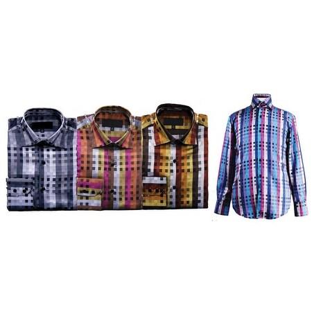 Men's Square Dot Shirt