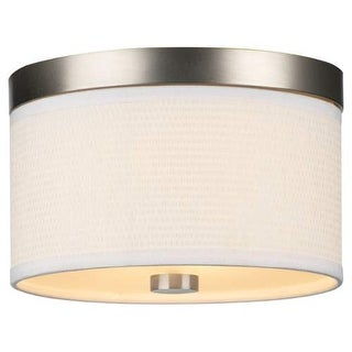 "Forecast Lighting F615236 2 Light 10.25"" Wide Flush Mount Ceiling Fixture from the Cassandra Collection"