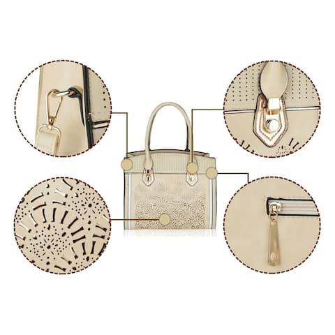 Mkf Collection Sheila Top Handle Satchel Bag By Mia K