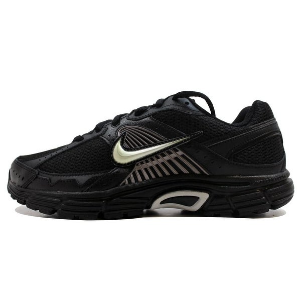 423ce3ee161b9 Shop Nike Men s Dart VII 7 Black Metallic Silver-Black 354491-002 ...