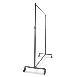 Econoco 60 in. Pipeline Adjustable Ballet Rack, Anthracite Grey