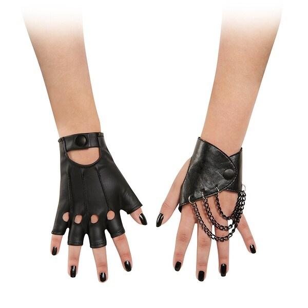 Girls The Descendants Mal Costume Gloves