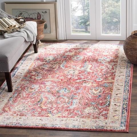 SAFAVIEH Bristol Gretchen Vintage Boho Oriental Polyester Rug