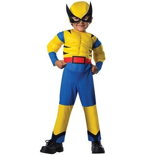 Rubies Deluxe Wolverine Toddler Costume - YELLOW