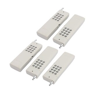 5pcs 3000 Meters 12 Keys Battery Powered Industrial Wireless Remote Controller