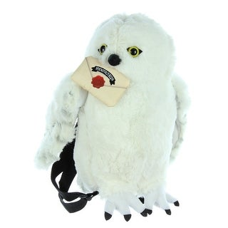 Harry Potter Hedwig Owl Plush Backpack Stuffed Animal - One Size Fits most
