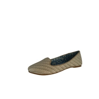 Not Rated Women's Woven Fabric Dodgy Flat