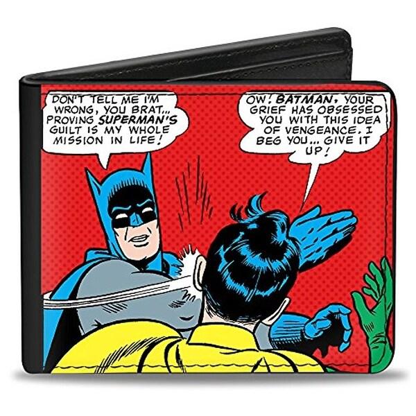 Buckle-Down Bifold Wallet Batman Robin