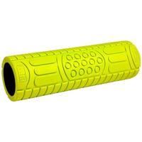 "GoFit 18"" Deep Tissue Massage Foam Roller with Training Manual - Green"