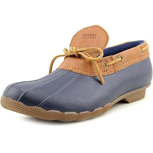 Sperry Top Sider Cormorant Women  Moc Toe Synthetic Blue Boat Shoe