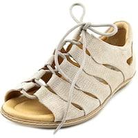 Earth Plover Women  Open Toe Leather  Gladiator Sandal
