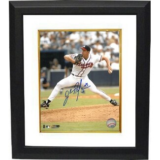 John Rocker signed Atlanta Braves 8x10 Photo Custom Framed