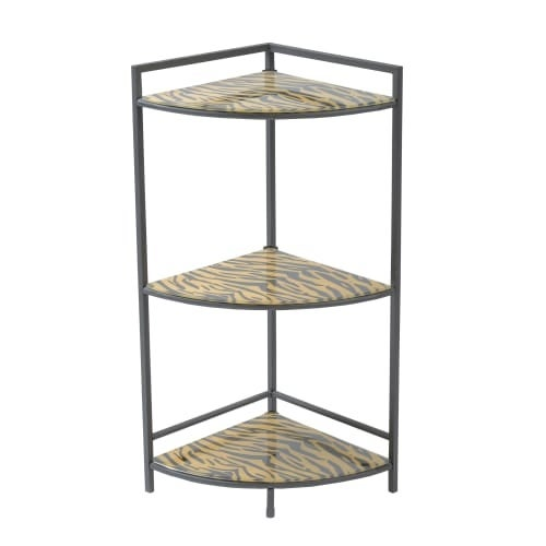 Monarch Specialties I 3121 30 Inch Tall Accent Corner Shelving Unit Free Shipping Today 19508947