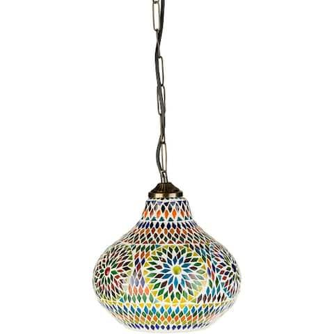 Montmartre Moroccan Glass Hanging Pendant