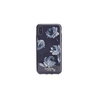 Kate Spade New York Night Rose Glitter iPhone X / iPhone Xs Case, Navy