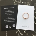 Honeycat Love Knot Ring (Delicate Jewelry) - Thumbnail 10