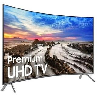 Samsung UN65MU8500FXZA 65-inch Curved 4K UHD Smart LED TV - 3840 (Refurbished)