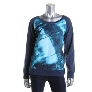 Calvin Klein Jeans Womens Printed Pullover Sweatshirt