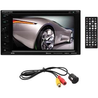 """Boss 6.5"""" DDin Receiver Touchscreen Bluetooth DVD/CD USB/SD"""