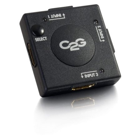 C2g - 3 Port Compact Hdmi Switch