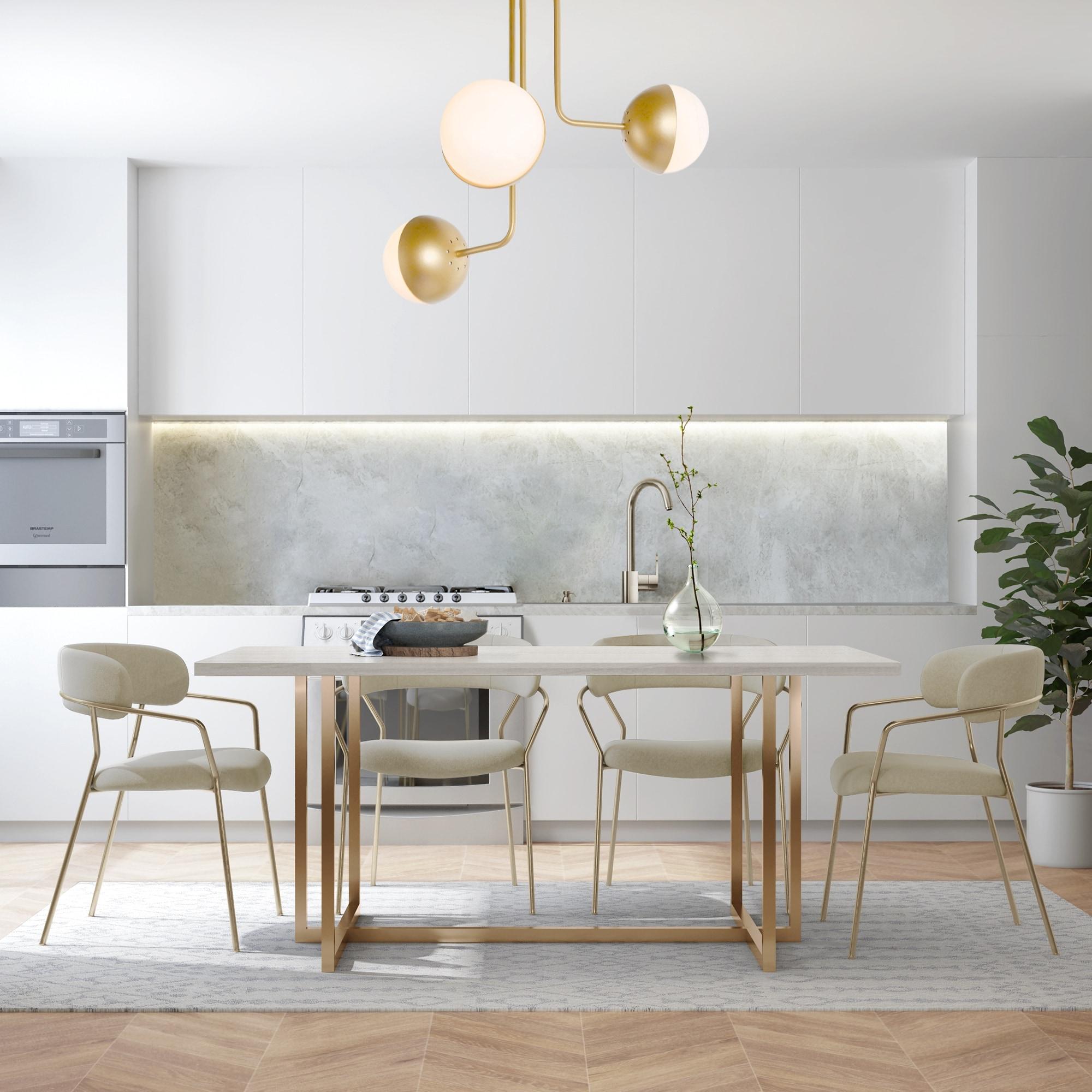 Sputnik 3 Light Semi Flush Mount Modern Ceiling Lighting For Living Room Bedroom W23 6 Xh22 8 Overstock 32454039