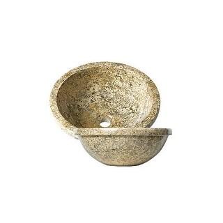 "DecoLav 1645 16-1/4"" Marble Vessel Bathroom Sink"