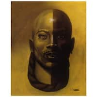''Timeless II (Male)'' by Laurie Cooper African American Art Print (27 x 20 in.)
