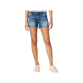 Joe's Jeans Womens Ozzie Cutoff Shorts Rami Wash Destroyed - 25