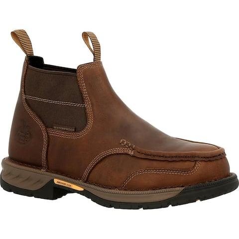 #GB00440, Georgia Boot Athens 360 Steel Toe Waterproof Chelsea