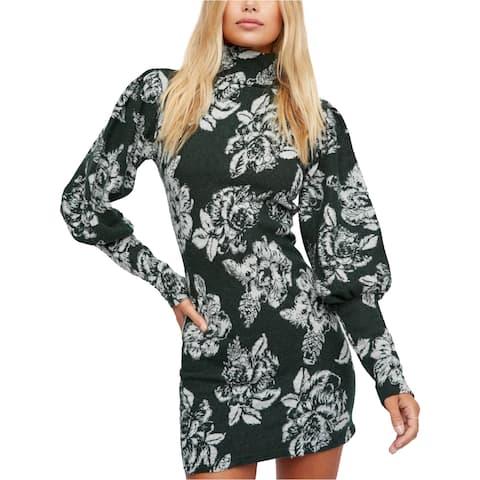 Free People Womens Farrah Sweater Dress