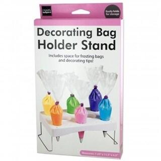 Bulk Buys HG990-5 Cake Decorating Bag Holder Stand - 5 Piece