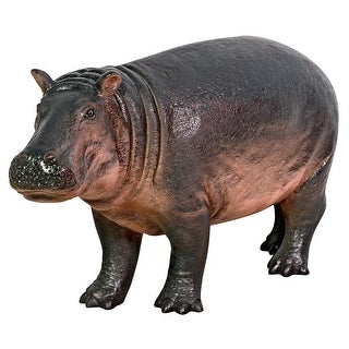 Design Toscano Bobo the Baby Hippo Statue